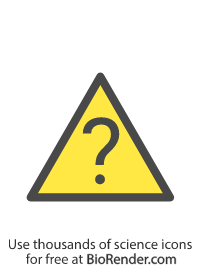a triangle symbol with a question mark