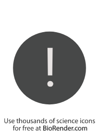 a circle symbol with an exclamation mark