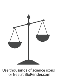 an tipped or unbalanced scale