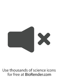 a minimal vector symbol of a muted speaker