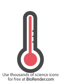 a thermometer indicating high temperature