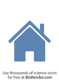 a minimal vector icon of a house with chimney, roof and front door