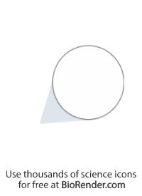 Zoomed callout (circle, shaded tail, short)