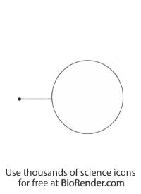 Label callout (circle, dot line)